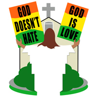 GOD DOESN'T HATE
