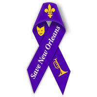 SAVE NEW ORLEANS RIBBON