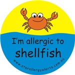 I'm allergic to shellfish