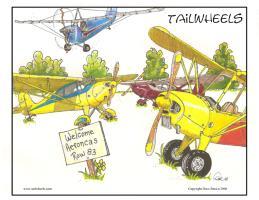 Aeroncas Welcome