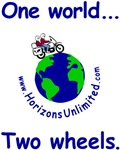 One world ... Two wheels.