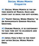 Social Work Etiquette