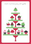 Sweet Holidays Cupcakes Card