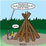 Leave No Trace Bonfire