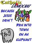 Jesus Didn't Ride an Elephant