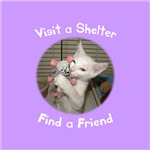 Visit a Shelter, Find a Friend