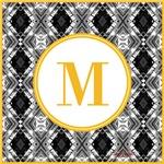 Diamond Gold Monogram