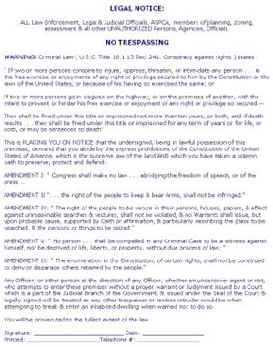 Legal Notice #1