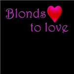 Blondes love to love