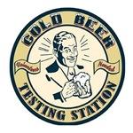 Cold beer testing station