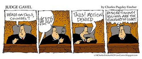 Judge Gavel: Discretionary Ruling