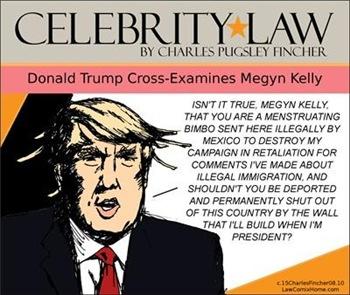 Donald Trump Cross-Examines Megyn Kelly