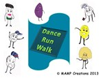 Dance Run Walk with Phil the Pill and Friends!