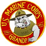 US Marine Corp Grandpa (Devil Dog)