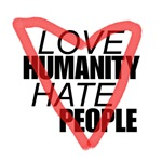Love Humanity Hate People