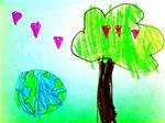 Love Trees around the world