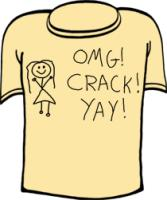 OMG Crack Yay - Offensive Humor Design with gifts