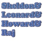 Sheldon, Leonard, Howard and Raj 2