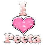 Vintage I Heart Peeta 1