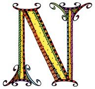 What Fun Monogram N
