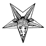 Vintage Occult Goat