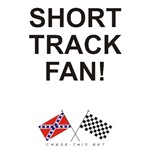REBEL & CHECKERED FLAG<br />SHORT TRACK FAN
