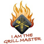 I AM THE<br />GRILL MASTER