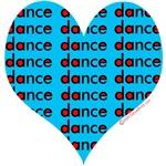 Dance Heart Blue
