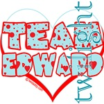 Team Edward Dots and Hearts by Twidaddy