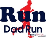 Run Dad - Blue & Red with icon