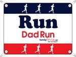 Race Bib Run Dad