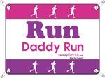 Race Bib Run Daddy
