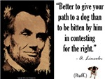 Give Your Path to a Dog
