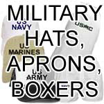 Hats, Aprons, Boxers