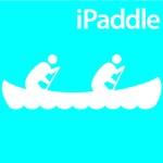 Canoeing iPaddle Silhouette