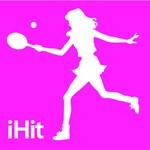 Tennis Pink iHit Silhouette