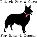 Collie Personalizable I Bark For A Cure