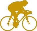 Gold Cyclist