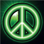 Alien Peace Sign Gifts