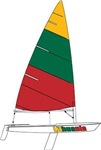 Lithuania Dinghy Sailing
