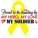 Proudly standing by my Soldier