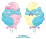 Kawaii Cotton Candy Couple