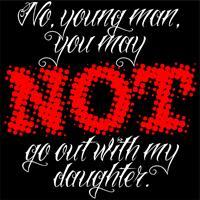 NO, YOUNG MAN...