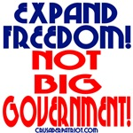 EXPAND FREEDOM NOT BIG GOVERNMENT
