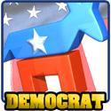 3D Democrat T-shirt