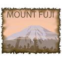 Vintage Japan Mount Fuji