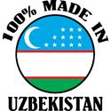 Made In Uzbekistan T-shirt