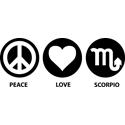 Peace Love Scorpio