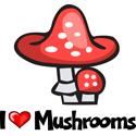 Mushroom T-shirt, Mushroom T-shirts