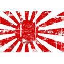 Vintage Japan Naval Flag